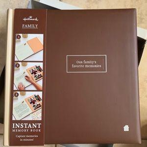 Hallmark family scrapbook new In Box